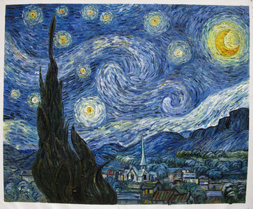 Starry Night_Vincent van Gogh