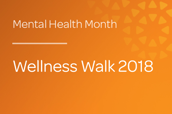 Event - Wellness Walk 2018