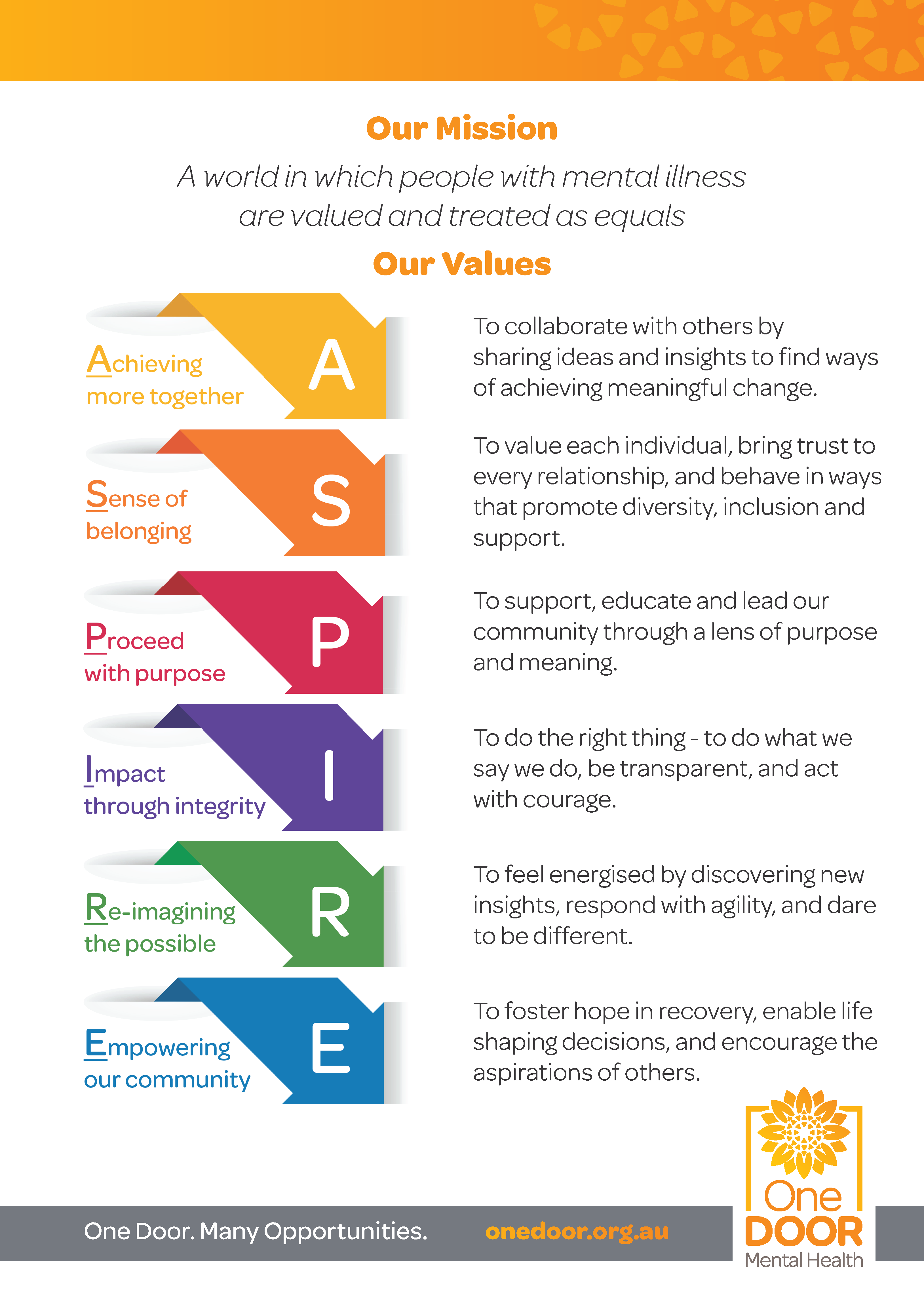 ASPIRE_Our Values