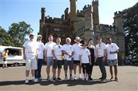 Wellness Walk Sydney 2016: Scott Farlow MLC, Rob Ramjan CEO SFNSW, David Hurley NSW Governor, Mrs Linda Hurley, John Fenely NSW Mental Health Commissioner and their team.