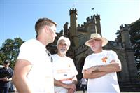 Wellness Walk Sydney 2016: Rob Ramjan - CEO SFNSW, His Excellency General The Hon David Hurley AC DSC (Ret'd) - Governor of NSW