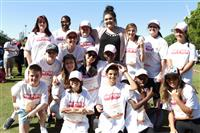 Wellness Walk Sydney 2016: Our wonderful young carers from the On Fire team - a great day out for them!