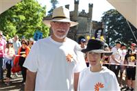 Wellness Walk Sydney 2016: His Excellency General The Hon David Hurley AC DSC (Ret'd) - Governor of NSW, Mrs Linda Hurley