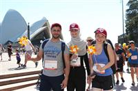 Wellness Walk Sydney 2016: Smiles and sunflowers