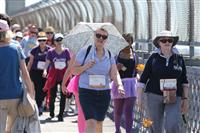 Wellness Walk Sydney 2016: It's good to protect yourselves from the sun