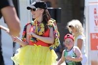 Wellness Walk Sydney 2016: Happy and colourful - right in the spirit of the day