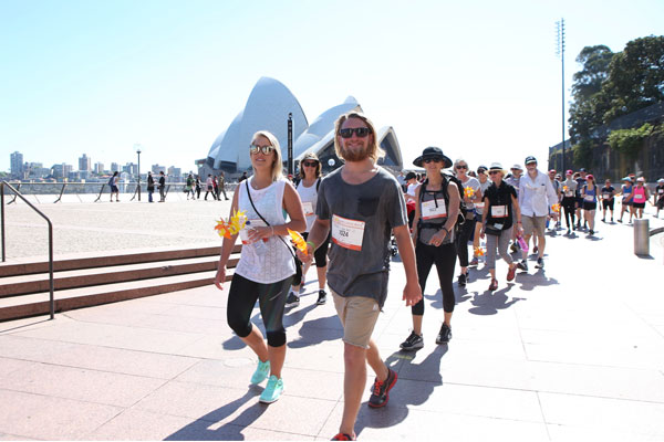 Wellness Walk Sydney 2016: What a backdrop - a beautiful day