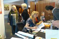 SFNSW Symposium 2016: SFNSW Staff and Volunteers at the registration desk