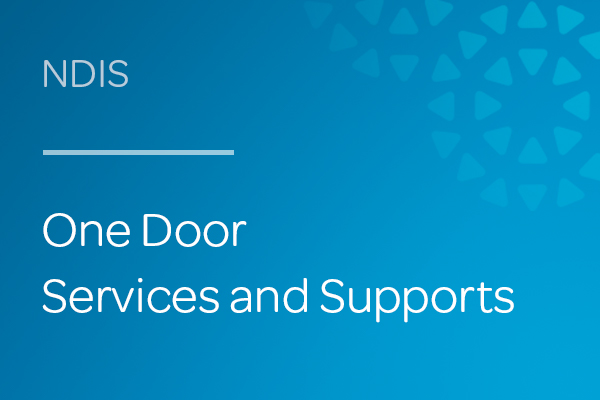 One Door NDIS Services and Supports