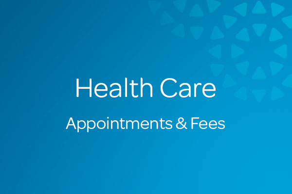 Appointments and Fees