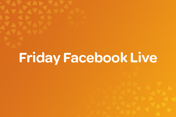 Friday-Facebook-Live