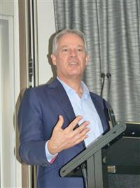 One Door Mental Health Symposium 2018 Professor Peter Schofield, Executive Director & CEO NeuRA. Photo Credit: Bruce Jarvis