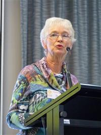 One Door Mental Health Symposium 2018  Guest Speaker Sue Curry, Carer. Photo Credit: Bruce Jarvis
